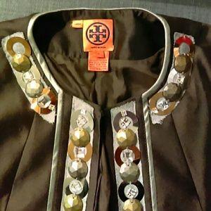 Tory Burch ornate blazer